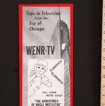 "Image of AR_00135 - WENR-TV Ad for ""The Adventures of Uncle Mistletoe"""