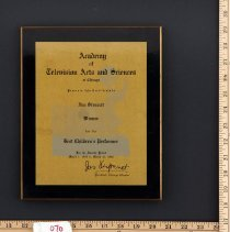 Image of AR_00070 - Award - Academy of Television Arts and Sciences - Jim Stewart