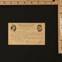 Image of AR_00012 - Jim & Marian Jordan postcard from WENR