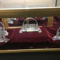 Image of N/A - Radio Hall of Fame Glass Award - Blank Award