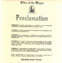 Image of 2008.10.0006 Proclamation