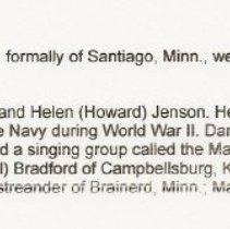 """Image of Jenson, Daniel """"Dan"""" - Jenson, Daniel """"Dan"""" 2009 Sept 24"""