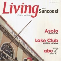 Image of Living on the Suncoast - Living on the Suncoast magazine November 2011 issue