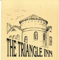 Image of Triangle Inn, The - Information brochure describing the Triangle Inn Restoration Project (2 copies)