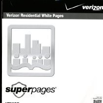 """Image of Verizon Residential White Pages Telephone DIrectory, November 2012-2013 - Verizon Residential White Pages """"Superpages"""" directory with names, addresses and telephone numbers for area code 941 (Venice, North Port, Englewood, Cape Haze, Nokomis, Osprey, Warm Mineral Springs), November 2012-2013."""