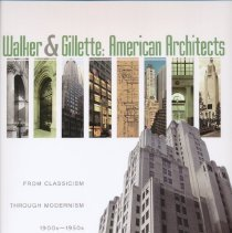 """Image of Walker & Gillette: American Architects - Book, """"Walker & Gillette: American Architects: From Classicism through Modernism, 1900s - 1950s."""" Chapter VIII, """"The City of Venice,"""" contains information, maps and pictures provided by Venice Museum and Archives."""