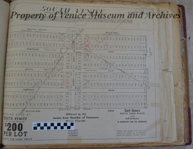 Florida Plat Maps.Venice Florida Plat Maps Bound Volume Containing Plat Maps Of