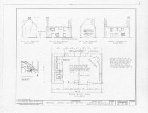 Image of Mouns Jones House, HABS drawing (1957)