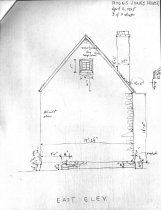 Image of Mouns Jones House, unfiled HABS drawings 3 of 10 (1985)