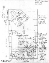 Image of Mouns Jones House, unfiled HABS drawings 5 of 10 (1985)