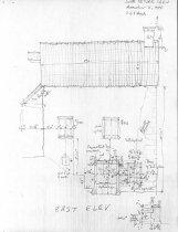 Image of DeTurk House, unfiled HABS drawings 2 of 5 (1984)