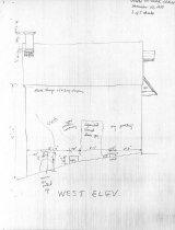 Image of DeTurk House, unfiled HABS drawings 3 of 5 (1984)