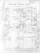 Image of DeTurk House, unfiled HABS drawings 4 of 5 (1984)