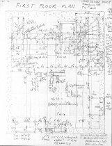 Image of DeTurk House, unfiled HABS drawings 5 of 5 (1984)