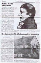 Image of Keim articles, American Folklife, Page 2 (1974)