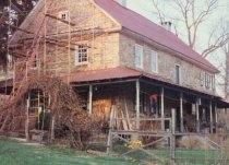 Image of Keim House, southwest perspective view (c.1990)