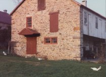 Image of Keim barn, southwest perspective view (c.1990)