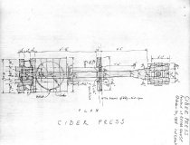 Image of Keim Cider Press, unfiled HABS field notes, page #2 (1984)