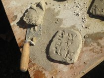 Image of Michael Fulp House, mortar composition & application, #548 (2010)