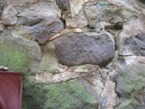 Image of Michael Fulp House, mortar composition & application, #260 (2010)