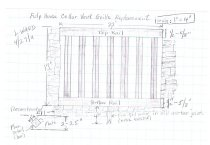 Image of Michael Fulp House, cellar vent grille drawing (2011)