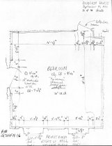 Image of George Douglass House, unfiled HABS field notes drawings, #16 (1990)