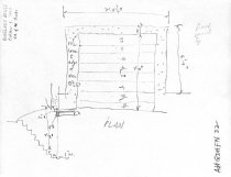 Image of George Douglass House, unfiled HABS field notes drawings, #22 (1990)