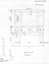 Image of George Douglass House, unfiled HABS field notes drawings, #25 (1990)