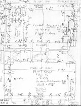 Image of George Douglass House, unfiled HABS field notes drawings, #11 (1990)