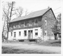 Image of white Horse Tavern, south perspective view (1971)