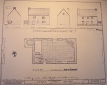 Image of Elevation drawings based on Field Notes drawings