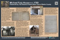Image of Michael Fulp House - Sign, Instructional