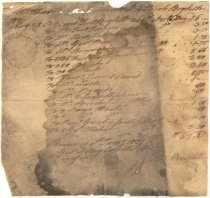 Image of George Douglass - Receipt