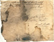Image of George Douglass - Receipt