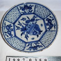 Image of Plate, Dinner - Unknown