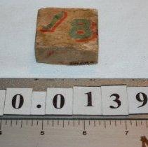 Image of Block, Alphabet - Unknown