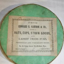 Image of Hatbox - Edward S. Canon & Co.