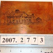 Image of Plate, Printing - R. Kinnicutt