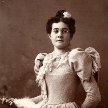 Image of Print, Photographic - Mrs. Anthony Zeleny ( Mattie Day)