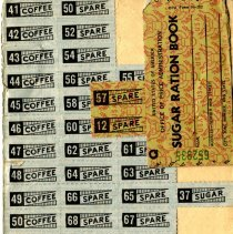 Image of WWII Ration stamps