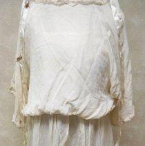 Image of Wedding dress & veil ribbons: Ella Lenz Schmidt, 1923