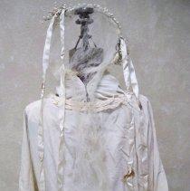Image of Wedding dress, headpiece & veil: Ella Lenz Schmidt, 1923