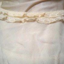 Image of Wedding dress: Ella Lenz Schmidt, 1923-detail