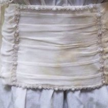 Image of Sash - Wedding dress cummerbund: Lucy Nuwash Podrasky,1914