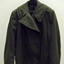 Image of Uniform - U. S. Marines uniform overcoat-World War II- Lyle Meyer