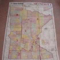 Image of Map - 1909 Minnesota map