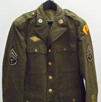 Image of Uniform - U. S. Army uniform jacket-World War II-Louis Pankake