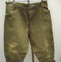 Image of Uniform - U. S. Army uniform pants-World War I-Charles Theuringer