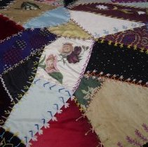 Image of Quilt - Crazy Quilt