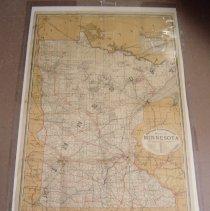 Image of Map - Minnesota Railroad map, 1901